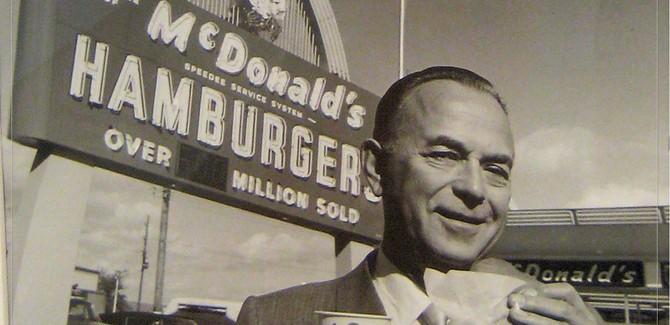 Ray Kroc (1902-1984) ou l'inventeur de la franchise : McDonald's