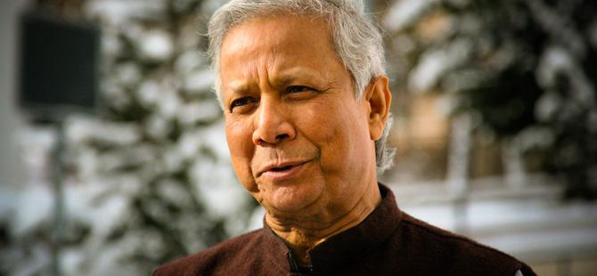 Muhammad Yunus, banquier des pauvres et créateur du microcrédit