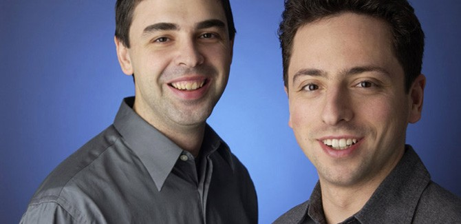 Sergey Brin et Larry Page ou les fondateurs de la révolution Google